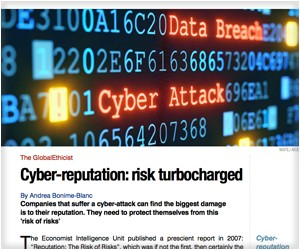 Cyber-reputation: risk turbocharged Ethical Corp Mag